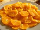 Dessert orange