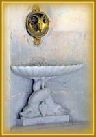 détail de la fontaine de la laiterie de TRIANON