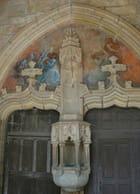 Détail entrée église