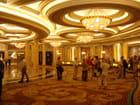 Détail Réception Hôtel de Las Vegas