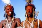 Deux danseurs du Gerewol