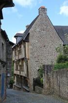 Dinan et ses maisons à colombages