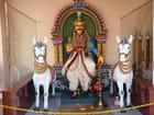 Divinité et ses chevaux