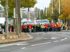 Manifestation des Docker  du Havre