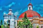Dôme et clocher de l'église San Pablo