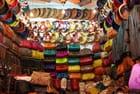 Echoppe dans le souk de Marrakech