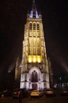 Eglise dans le centre d'Ieper - Ypres