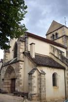 Eglise dans le vignoble de Bourgogne
