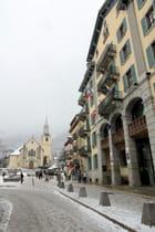 Eglise et Mairie de Chamonix