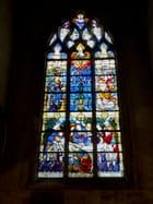 Eglise St Ouen - Vitrail de la chapelle N° 3