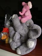 Eléphants de Noël