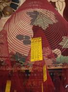Encens dans un temple