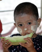 Enfant au melon