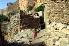 Enfant village dogon