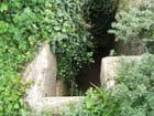Entrée du Bunker domaine Cazin