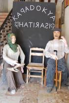 Entrée du musée de la vie ancienne en Cappadoce