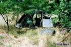 Epave de 2 CV Chaumont sur Tharonne aout 1992