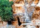 Escalier dans le Siq El Barid ( Petite Petra )