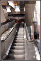 Escaliers mécaniques...