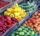Étal de légumes