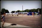 Expo de trains sur les Champs-Elysées
