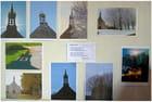 Exposition de photos dans une chapelle