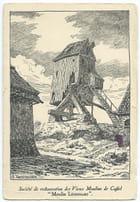 F59 CASSEL - Société restauration des Vieux Moulins de Cassel - Moulin Létendart