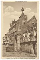 F59 MONT-CASSEL - Ancien Hôtel de Ville et Musée - Fontaine Monumentale