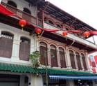 Façade dans le quartier chinois