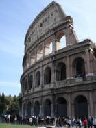 Façade du colisée de rome