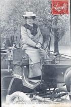 Femme cocher