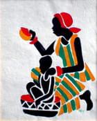 Femme et enfant Africa