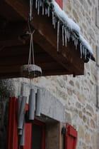 Festons stalactites