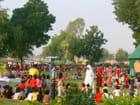Fête des élèves des écoles sur les pelouses du Palais Laxmi Niwas