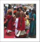 Fidèles à la Fête de Ganesh 2012