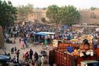 Fin du marché à Djenné