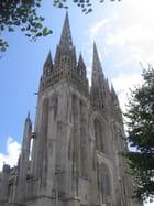 Flèches de la cathédrale Saint Corentin de Quimper