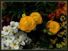 Fleurs Joyeuses fêtes de Pâques