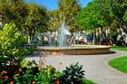 Fontaine à jets, Salon-de-Provence