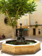 Fontaine au pays de Giono