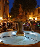 Fontaine de nuit ....