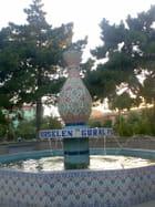 Fontaine en porcelaine turque