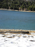 Fonte de neige Lac de Ste Croix