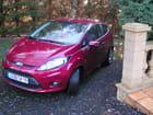 Nouvelle Ford Fiesta Hot Magenta