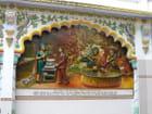 Fresque hindou