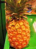Fruit exotique - ananas.