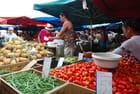 fruits et légumes au marché de Saint Paul