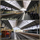 Gare de Lourdes (8 h 25)