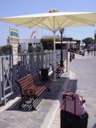 Gare routière estivale