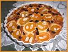 Gâteau au mascarpone, aux abricots et cerises séchées